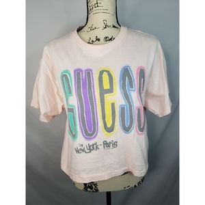 Vintage guess cropped tshirt.
